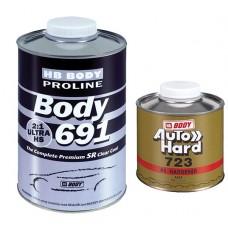BODY Лак 691 PROLINE 2:1 UHS SR 1л+отв 724 0,5л