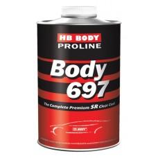 BODY Лак 697 PROLINE 2:1 1л +отв 620 0,5л