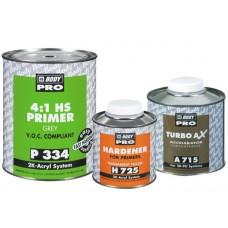 BODY Грунт 334 HS 4+1 серый 1л. + отв. Н725 0,25л