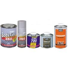 BODY Грунт 360-2K 1кг серый +отв 720 0,5л