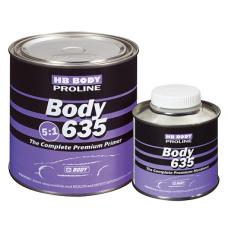 BODY Грунт 635 5+1 0,8л серый + отв 0,16л
