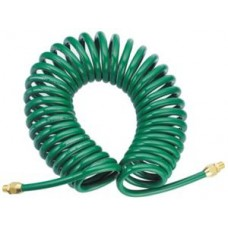 Шланг спиральный для пневмоинструмента JonnesWay, 5 мм х 12 мм х 13 м