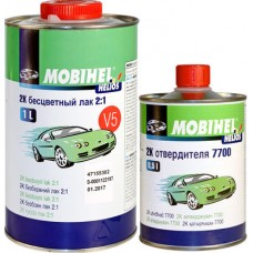 Mobihel Лак акриловый 2К V5 2:1 1л. + отв.7700 0,5л