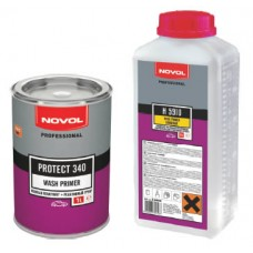 NOVOL Акриловый грунт 340 1+1 1л реактивный + отв.Н5910 1л