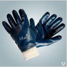 Перчатки нитриловые х/б основа