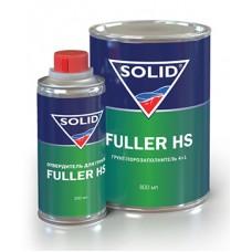SOLID Грунт FULLER HS 4+1 серый 800мл. + отв 0,2л