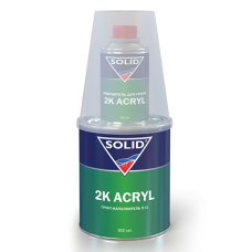 SOLID Грунт ACRYL 5+1 серый 800мл. + отв 0,16л