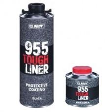BODY Tough Liner 955 Сверхпрочное защитное покрытие 0,6л + отв. 0,2л, колеруемое