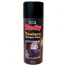 BODY Краска для бампера серая 0,4л, структурная, аэрозольная
