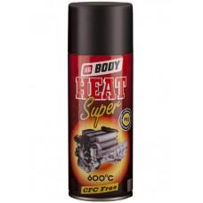 BODY Спрей-краска высокотемпературная Т*420 Черная 0,4л