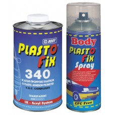 BODY Спрей-грунт 340 Plastofix по пластику бесцветный 0,4л