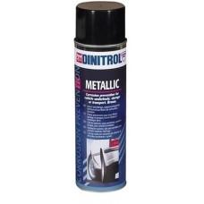 Dinitrol Metallic Антикор для днища 0,5л аэрозоль
