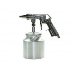 JETA JSP104 (JPS4) Пистолет пескоструйный ниж.ал.бач.1л сопло 6мм