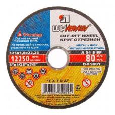 Круг отрезной Луга-Абразив 115 x 1,6 x 22,23 металл + нерж