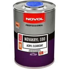 NOVOL Акриловый лак HS 590 2+1 1л керамический + отв. 0,5л