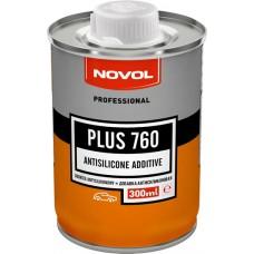 NOVOL Добавка PLUS 760 0,3л к лаку антисиликоновая